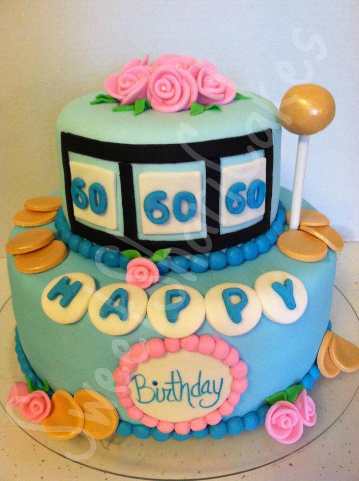 Sweet Shari Cakes Happy 60th Birthday Slot Machine