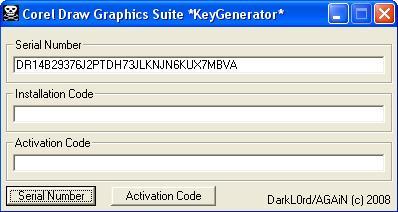 corel x4 keygen free download