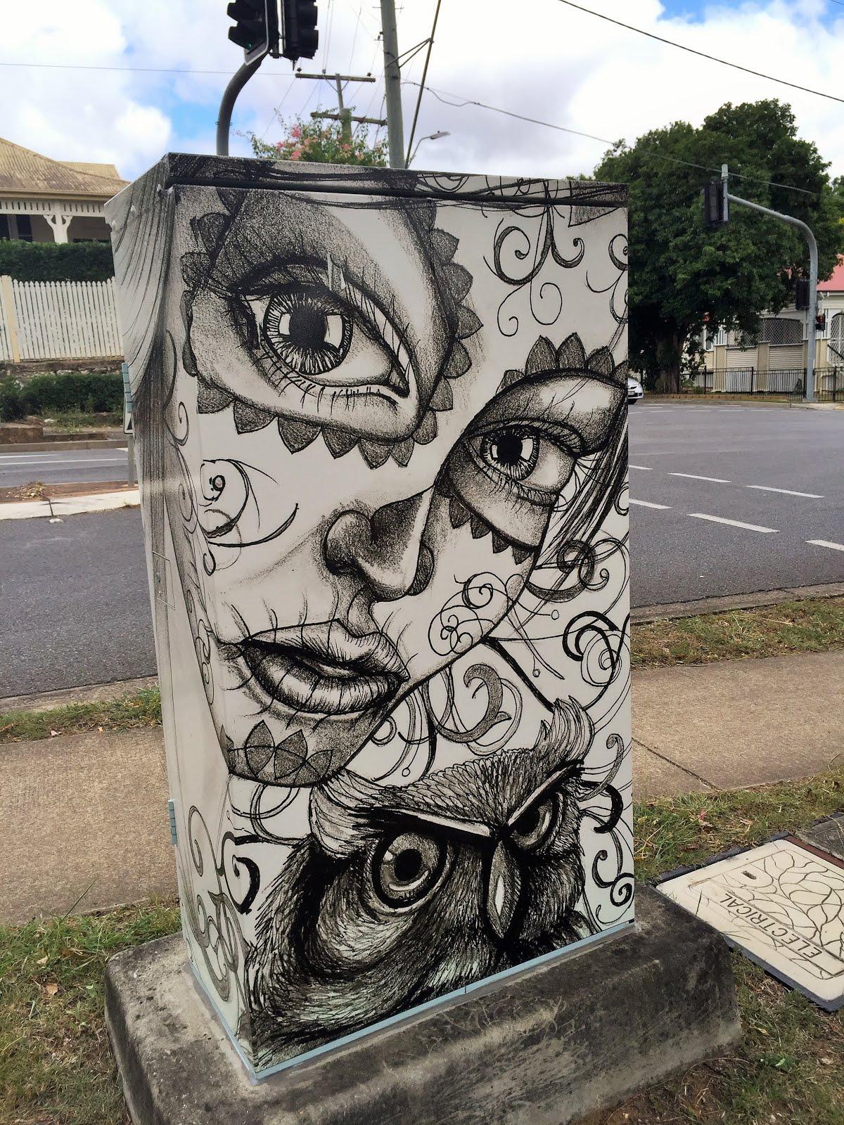 Stunning street art in ipswich