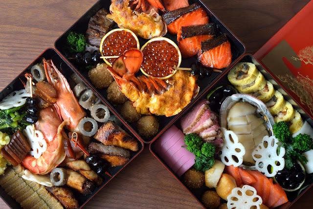おせち料理(三段重) Osechi Ryori