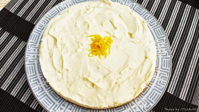 [甜點] 免烤檸檬乳酪蛋糕