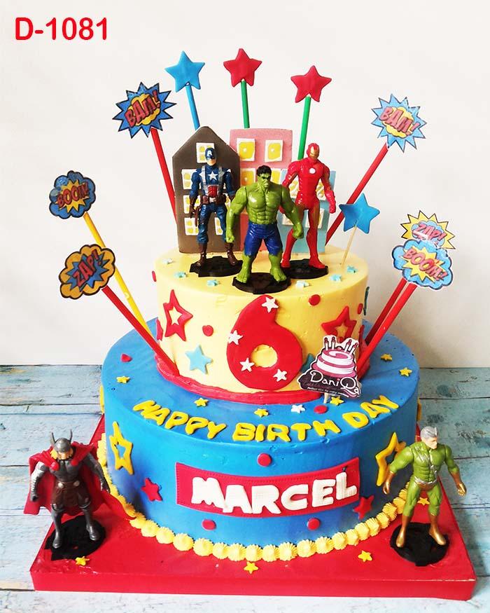 Birthday Cake Avengers Jakarta