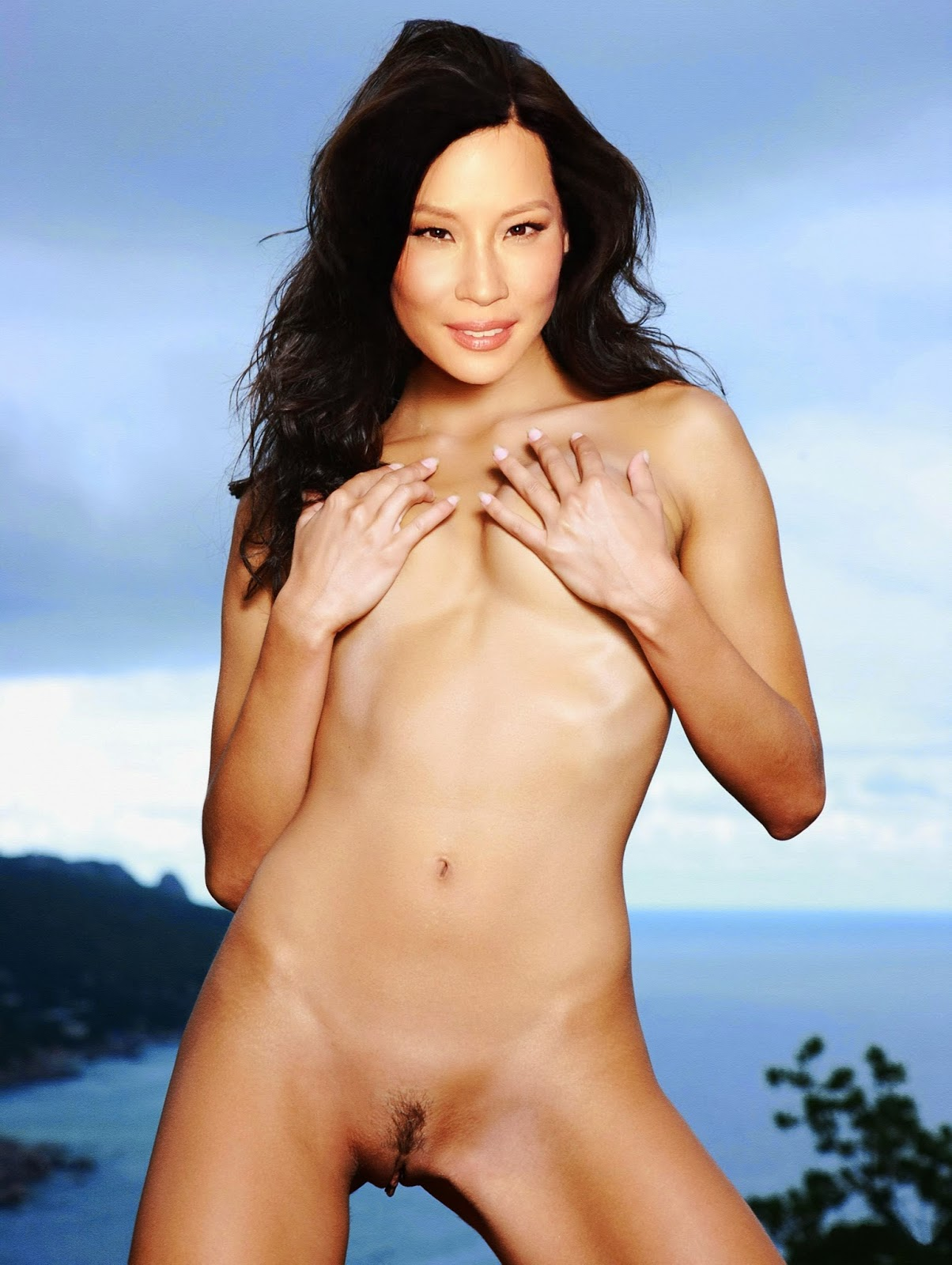 Lucy Liu Fakes Hot Asian Actress Naked Gallery