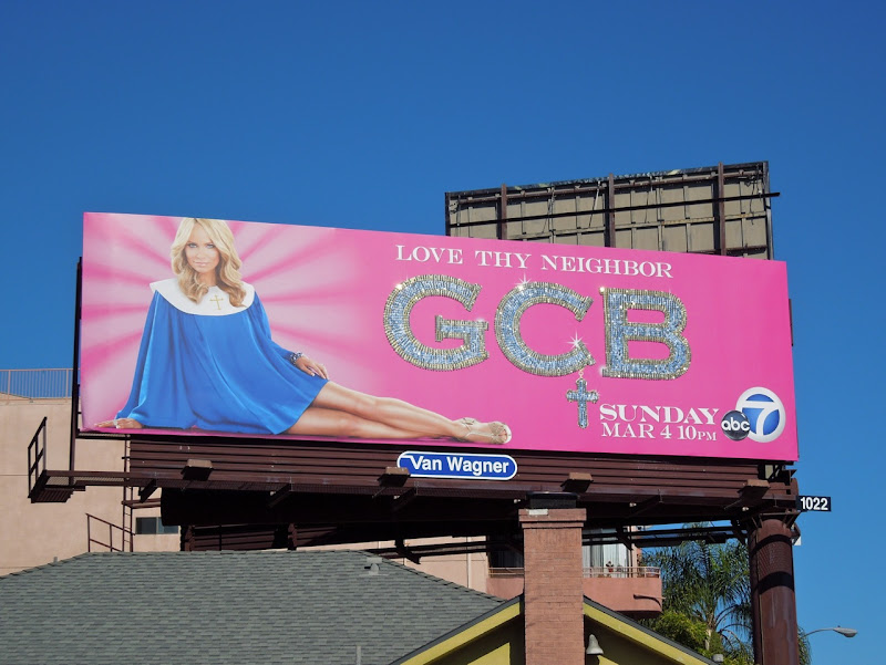 GCB billboard ad