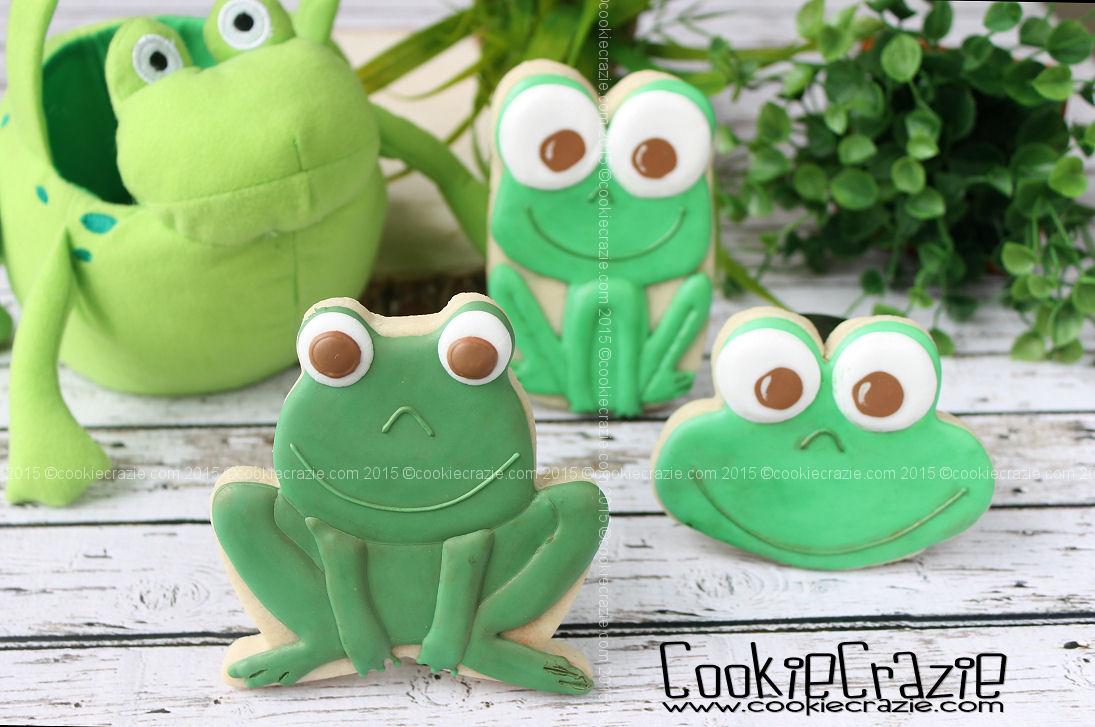 http://www.cookiecrazie.com/2015/07/frog-cookies-tutorial.html
