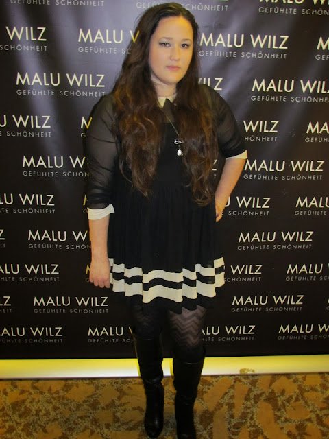 The one from the makeup artist convention (Malu-Wi...