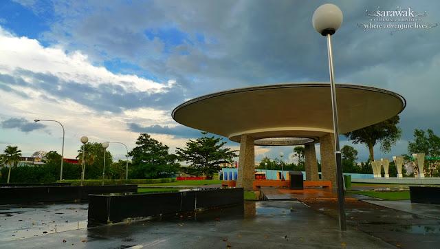 Sarawak Borneo sibu Hoover Square