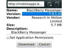 blankON-ku : Download Offline Installer BBM v7.0.1.23 (OS 5.0-7.1)