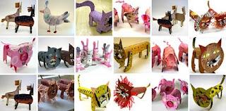 Ideas para Reciclar Tubos de Carton, Accesorios Ecoresponsables