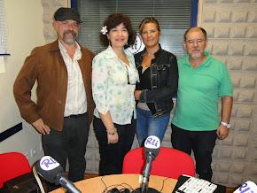 El I Encuentro Poetas de Ahora, estuvo en Radio la Isla con Ramón Luque Sánchez