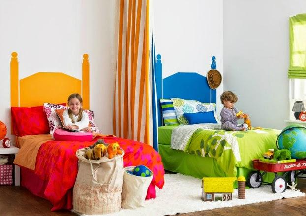 3120 غرف نوم اطفال فردية و زوجية للتوائم تصاميم سراير و حوائط و الوان غرف نوم للاطفال مودرن