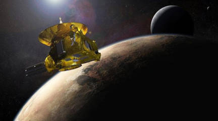 Fenomena Objek Aneh Di Planet Pluto? Ada Kehidupankah Disana?