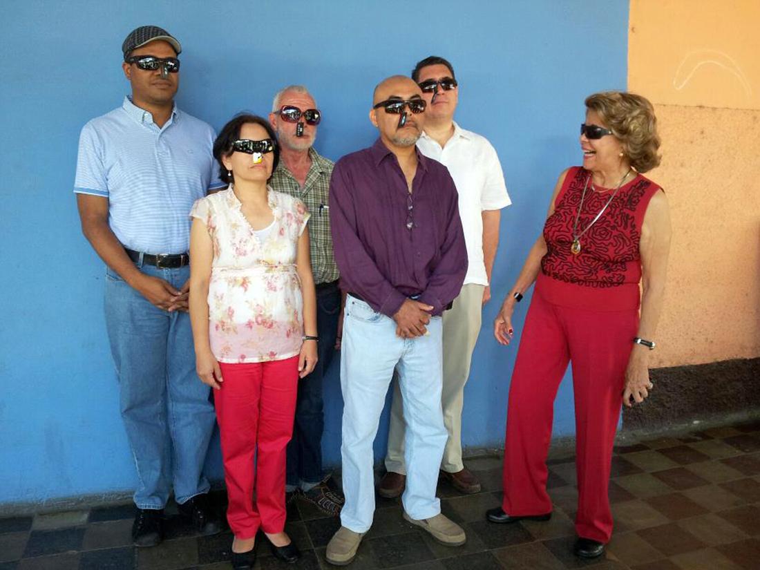 Carlos Wynter (Panamá), María Eugenia Ramos (Honduras), Ricardo Lindo Fuentes (El Salvador), Juan Carlos Lemus (Guatemala), Hugo Valdés Manríquez (México) y Rosa María Britton (Panamá). Foto: Daniel Mordzinski,
