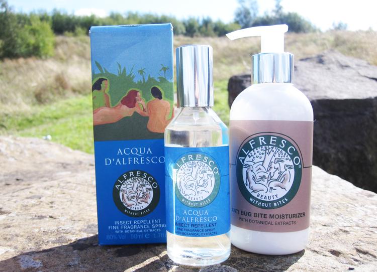 A picture of Acqua D'Alfresco Fragrance Spray & Alfresco Anti Bug Bite Moisturizer review