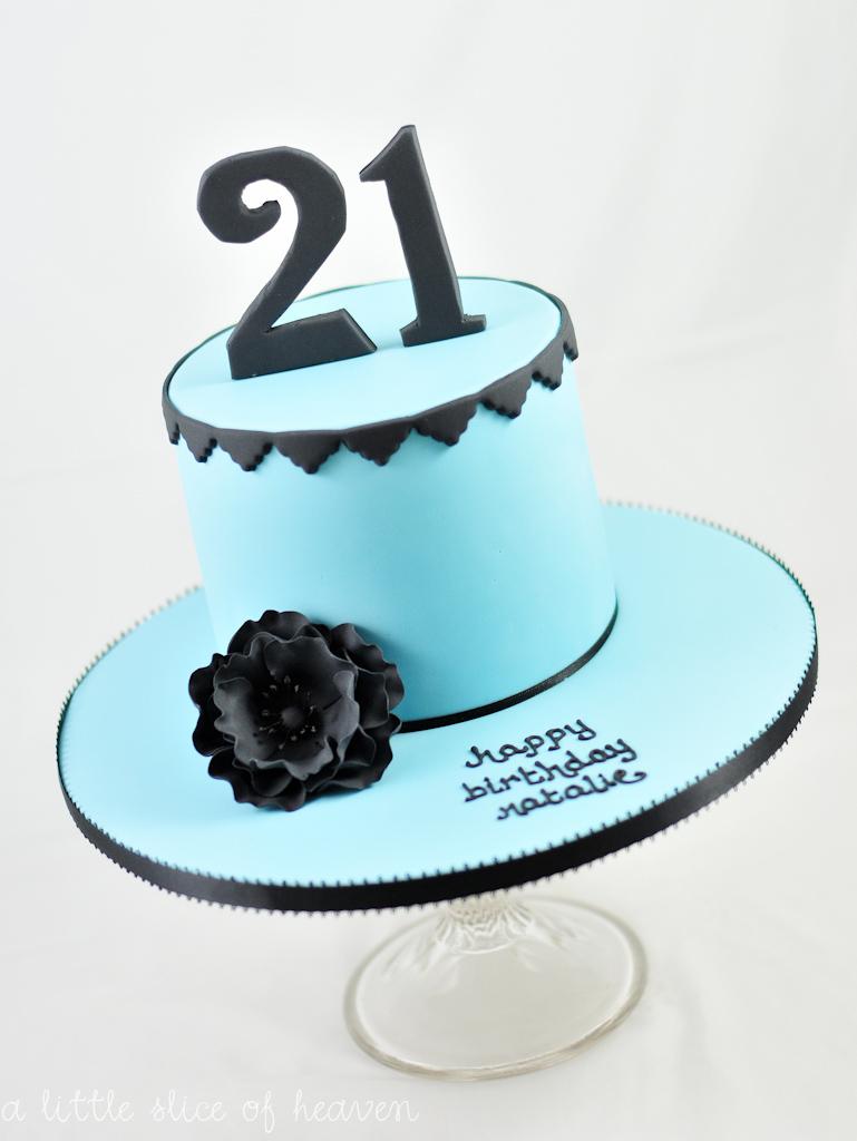 a little slice of heaven: Natalie's 21st birthday cake