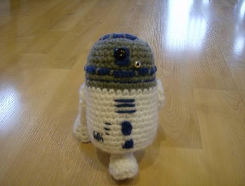Amigurumi Squirrel Pattern Crochet : Blog de Goanna: Patrones Amigurumi: Ewok y R2D2 de Star Wars