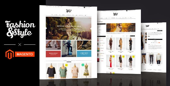 fashion store responsive website template