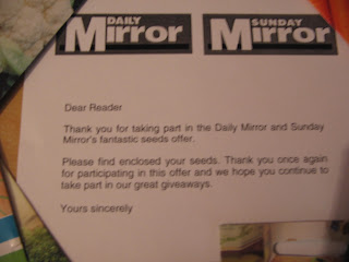 Daily Mirrir free seeds