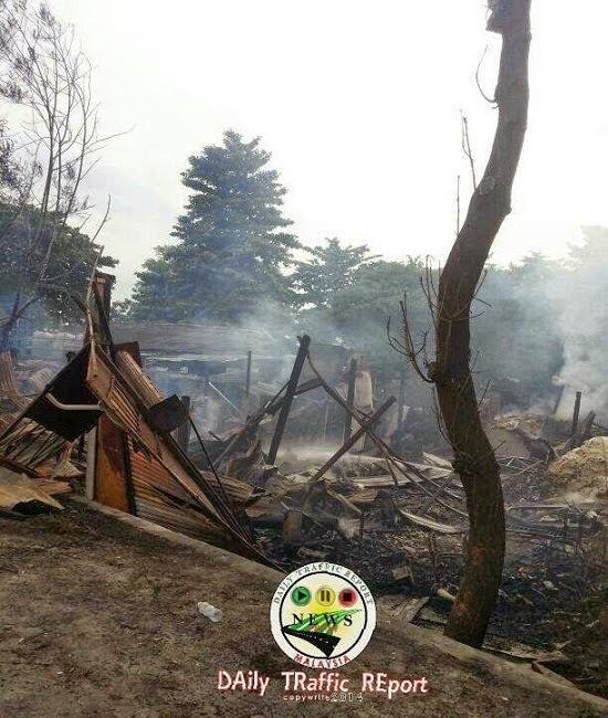 Kilang Bihun Jijik Terbakar atau Dibakar? (5 Gambar)