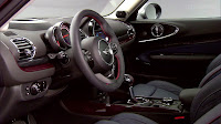 2016 New Mini Clubman More Elegant interior dashboard view