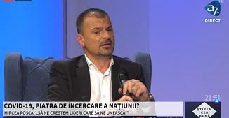 A7 TV: COVID-19, PIATRA DE ÎNCERCARE A NAȚIUNII? 🔴 Invitat: Mircea Roșca