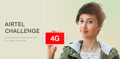 Photo:-Airtel 4G Internet