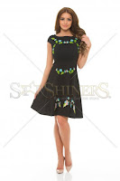 Rochie brodata Tropical Paradise 4