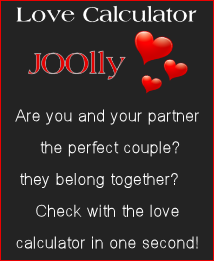 JOOlly Banner Love Calculator