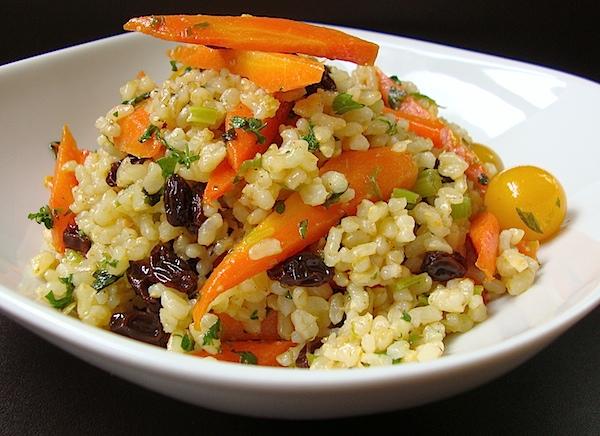 Mia's Domain: Warm Brown Rice Salad