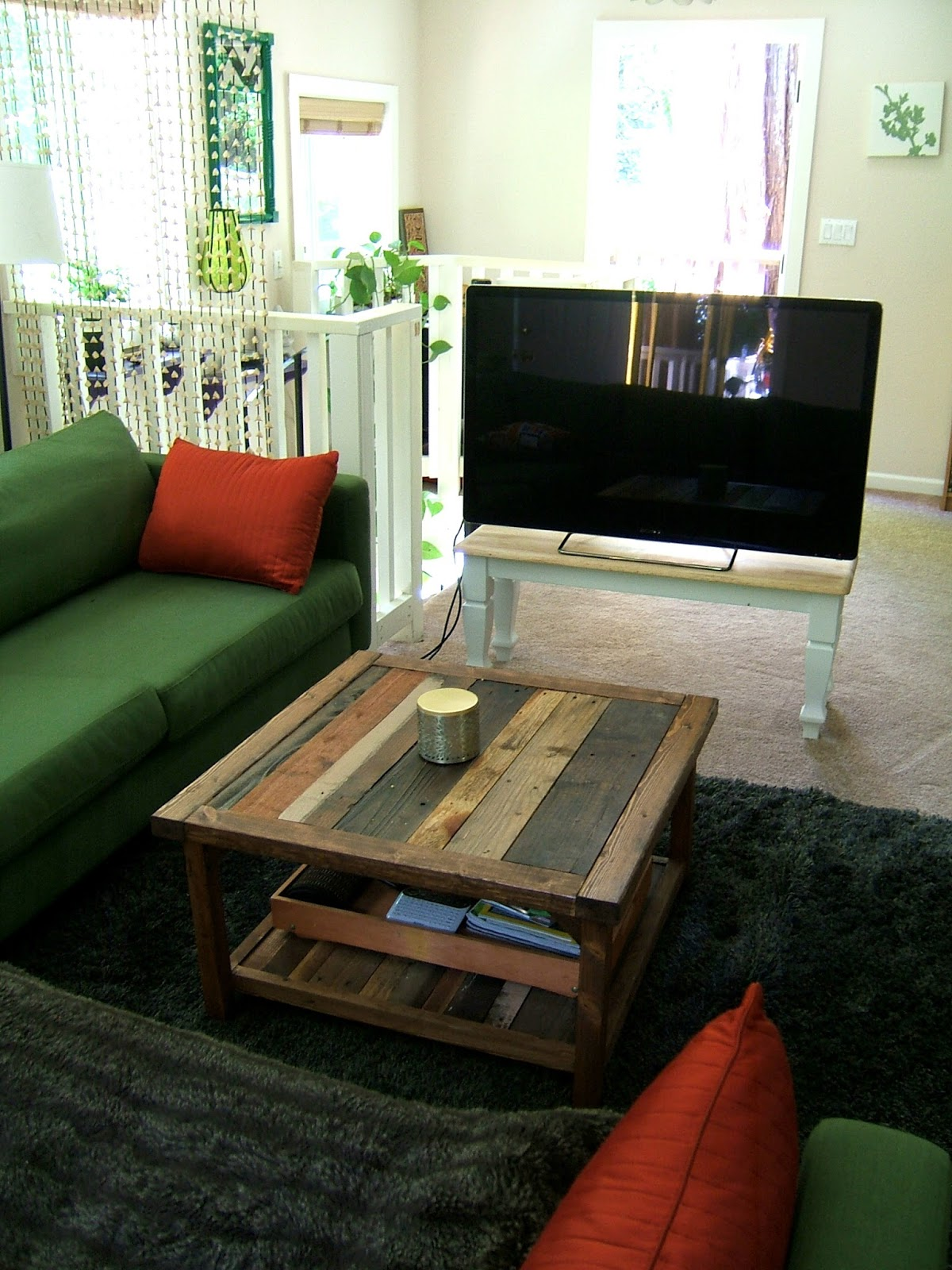 but that means we need a tv stand that doesn 39 t show the tv. Black Bedroom Furniture Sets. Home Design Ideas