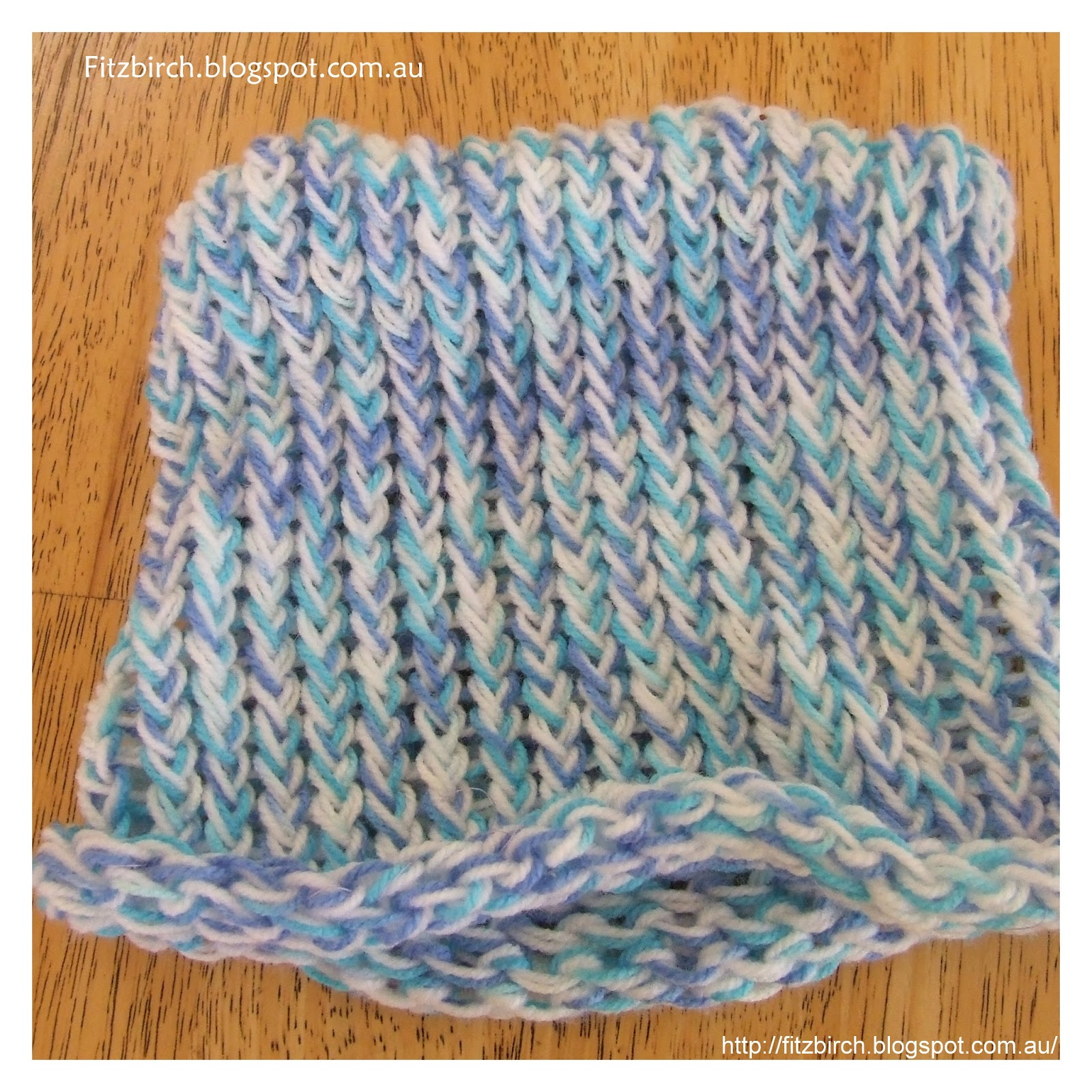 FitzBirch Crafts: Charity Loom Knit Hats - Sizing Guide