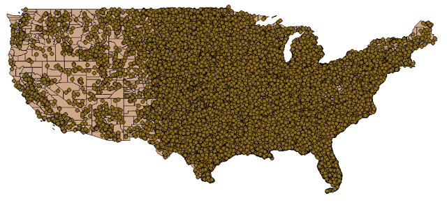 US map simple full vector. Only releff  & rivers 01 02 CorelDraw Royalty free