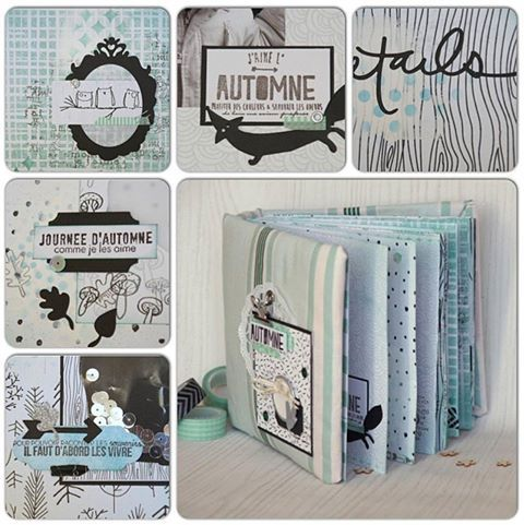 le scrap d 39 opsite tutoriel mini album. Black Bedroom Furniture Sets. Home Design Ideas