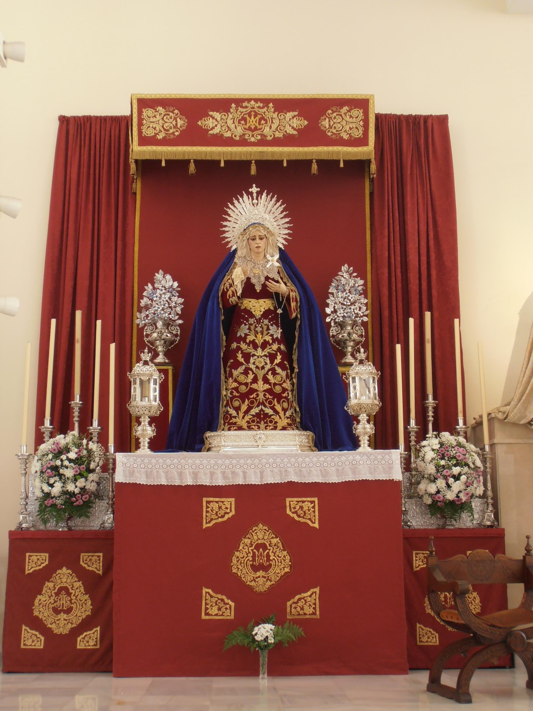 Triduo Virgen del Pilar 2016