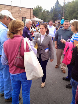 Elise Stefanik at the Cream Cheese Festival in Lowville