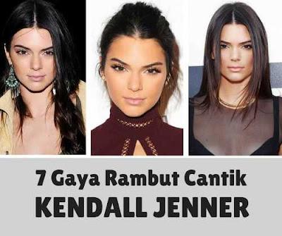 7 gaya rambut panjang kendall jenner yang cantik_63220598
