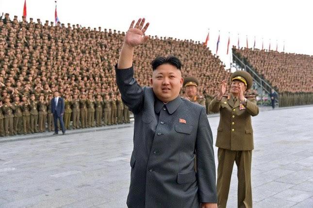 Kim Jong-Un Serukan perang Dengan Amerika