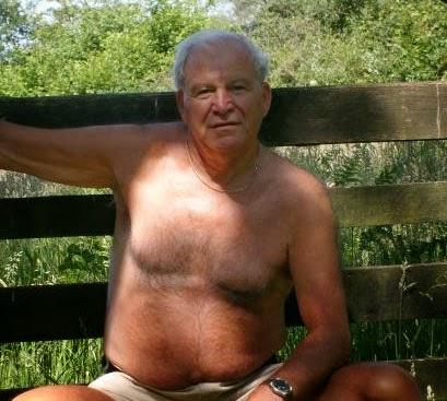 Naked Older Men Grandpa Pissing