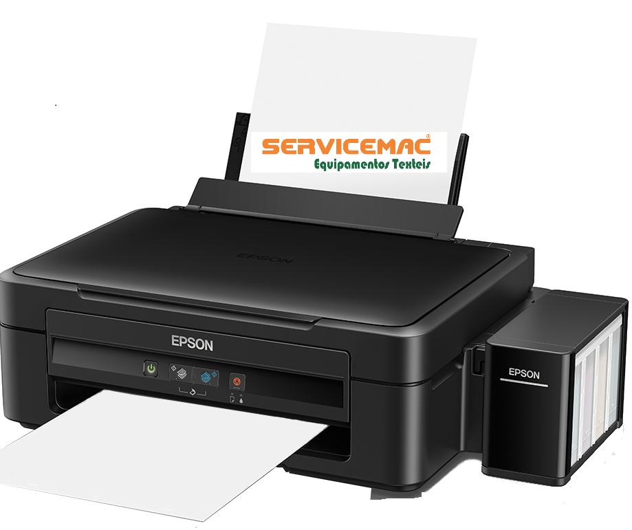 Impressora A4 para sublimação ou transfer