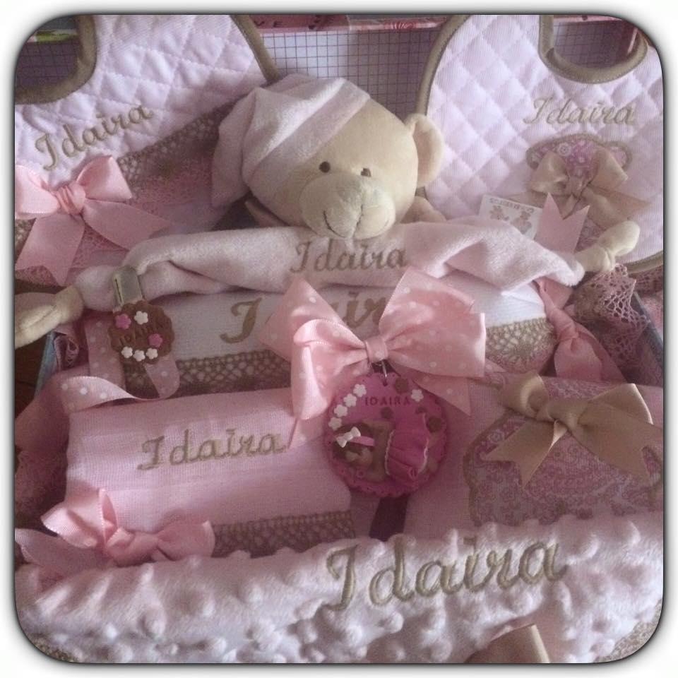 Canastilla de bebe hecha a mano