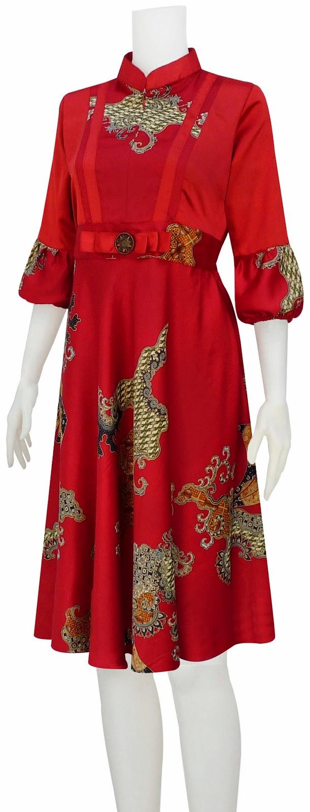 dress batik fashion klok