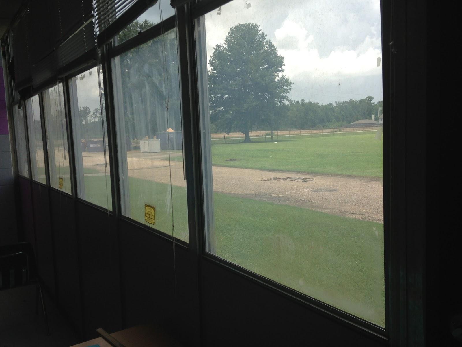 Classroom window - So Many Windows To Cover