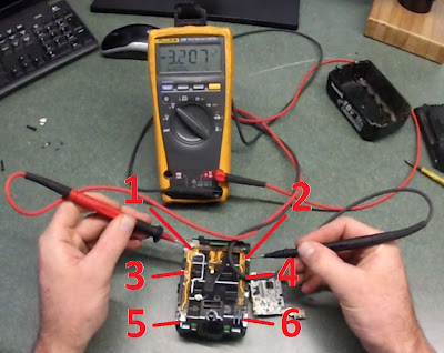Makita Bl 1830 Battery Repair Fusible Link Repair