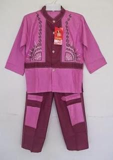 Model baju muslim anak laki-laki terbaru