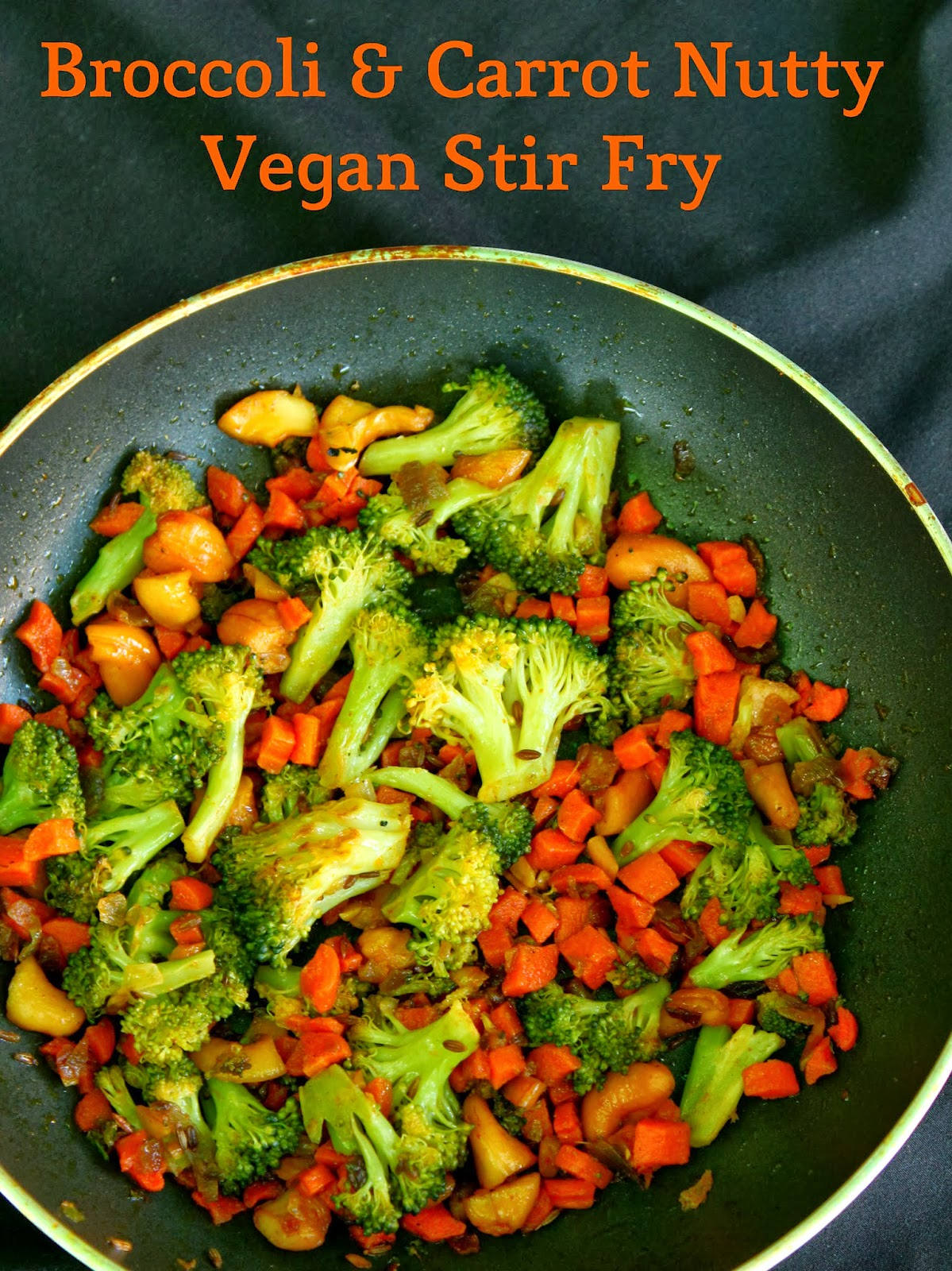 Indian-style Stir-Fried Spiced Carrots Recipe — Dishmaps