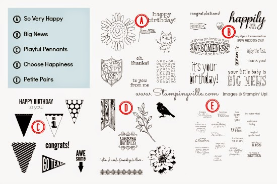 Stampin' Up! Sale - 20% Off Stamps