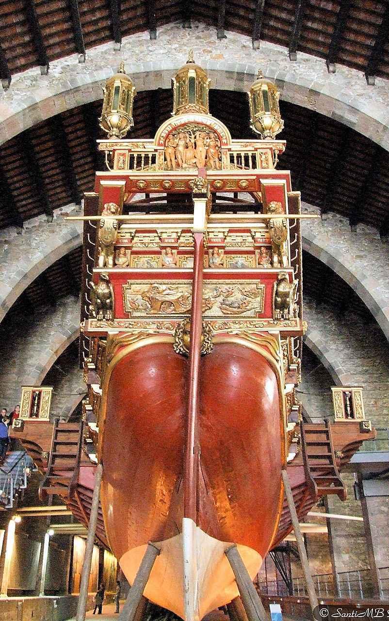 Réplica da nau capitã de Don Juan d'Áustria em Lepanto