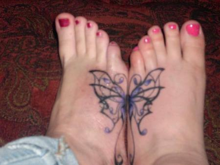 Foot Tattoo Designs For Women