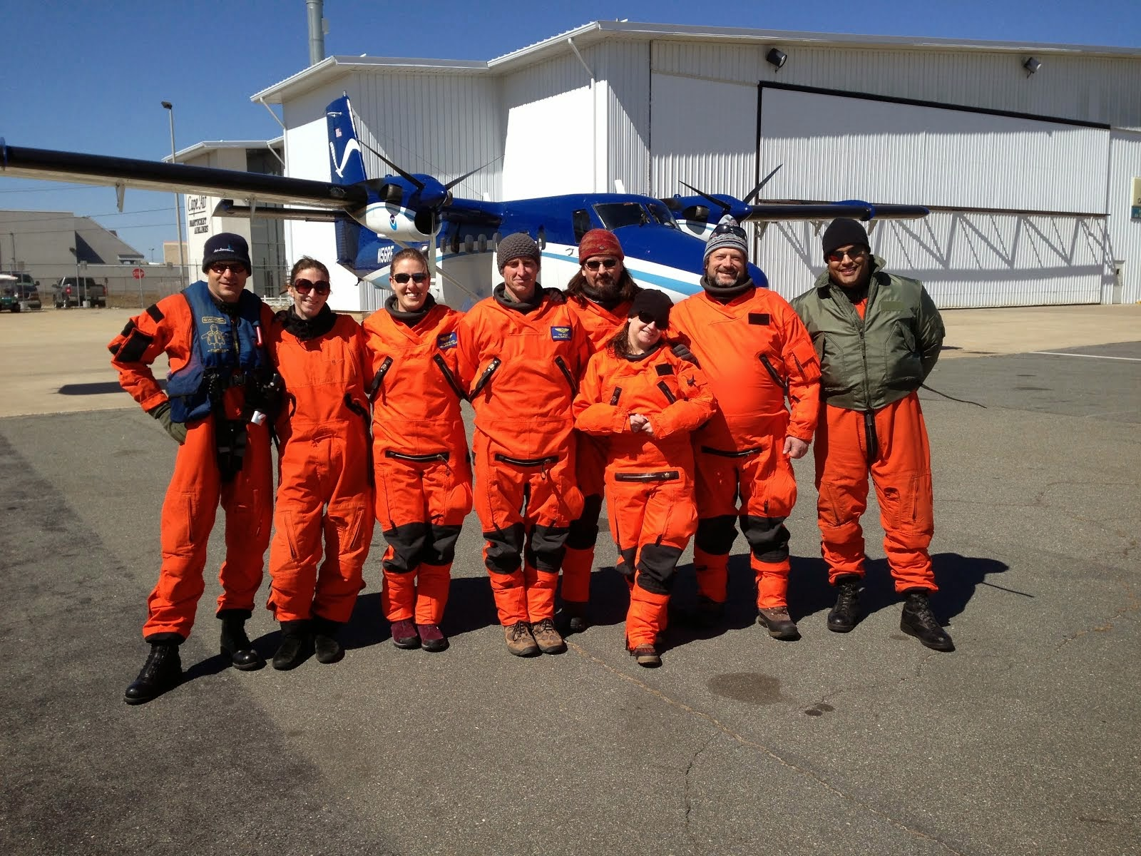 2014 AMAPPS Aerial Survey Team