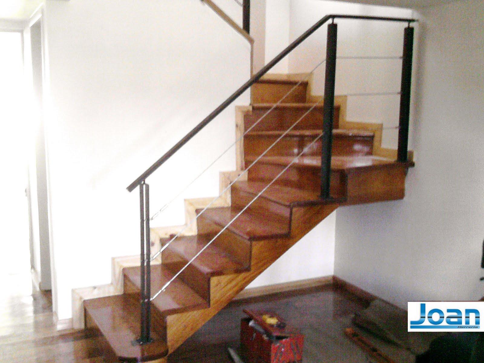 Herreria zona oeste ituzaingo - Barandas para escaleras de hierro ...